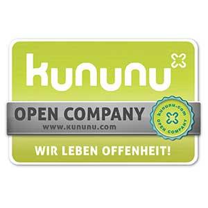 kununu Auszeichnung 'Open Company'