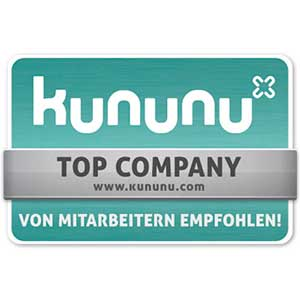 kununu Auszeichnung 'Top Company'