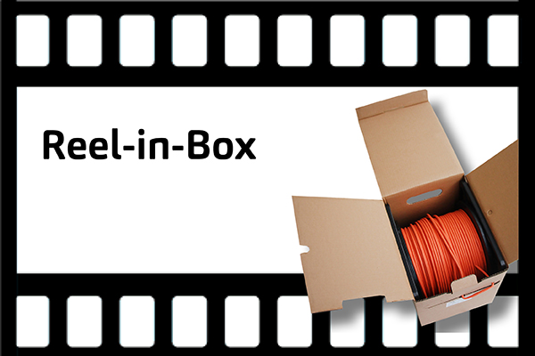 Faber Kabel TV | FACAB® dataline Reel-in-box.