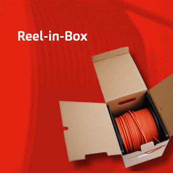 FABER® Reel-in-Box — The best solution for data cables.