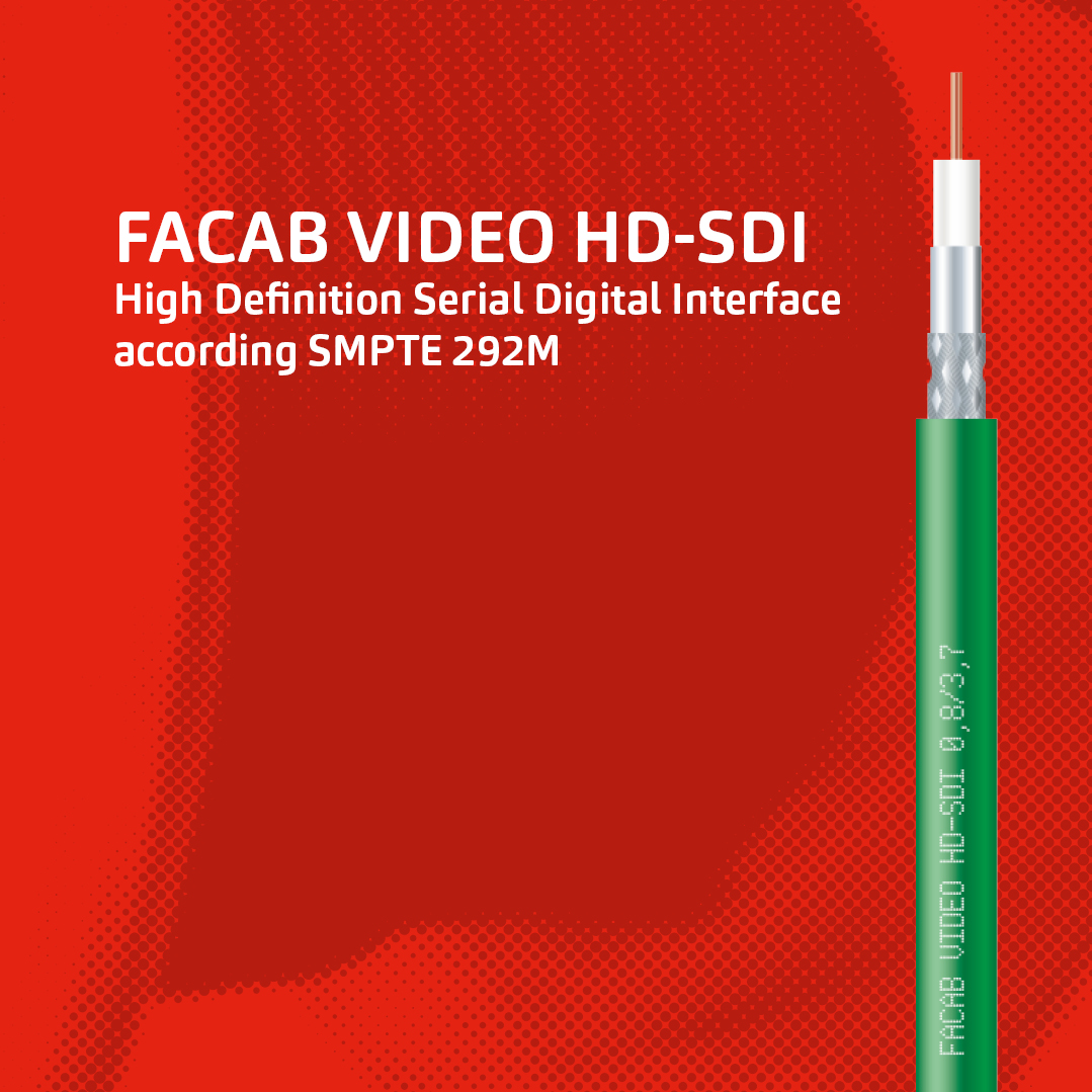 FABER® VIDEO HD-SDI according to SMTP292M.