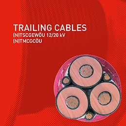 New designs in trailing cables