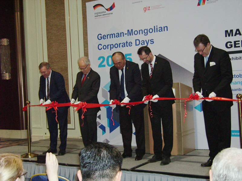 "Faber joins ""German-Mongolian Corporate Days 2015""."