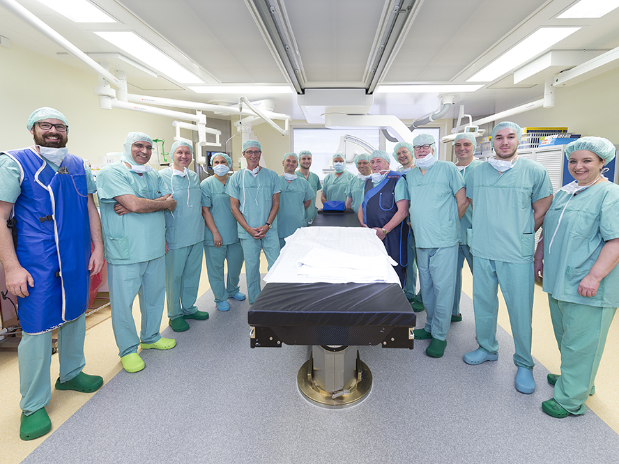 How cables save lives. The Klaus Faber Hybrid Operating Theatre.