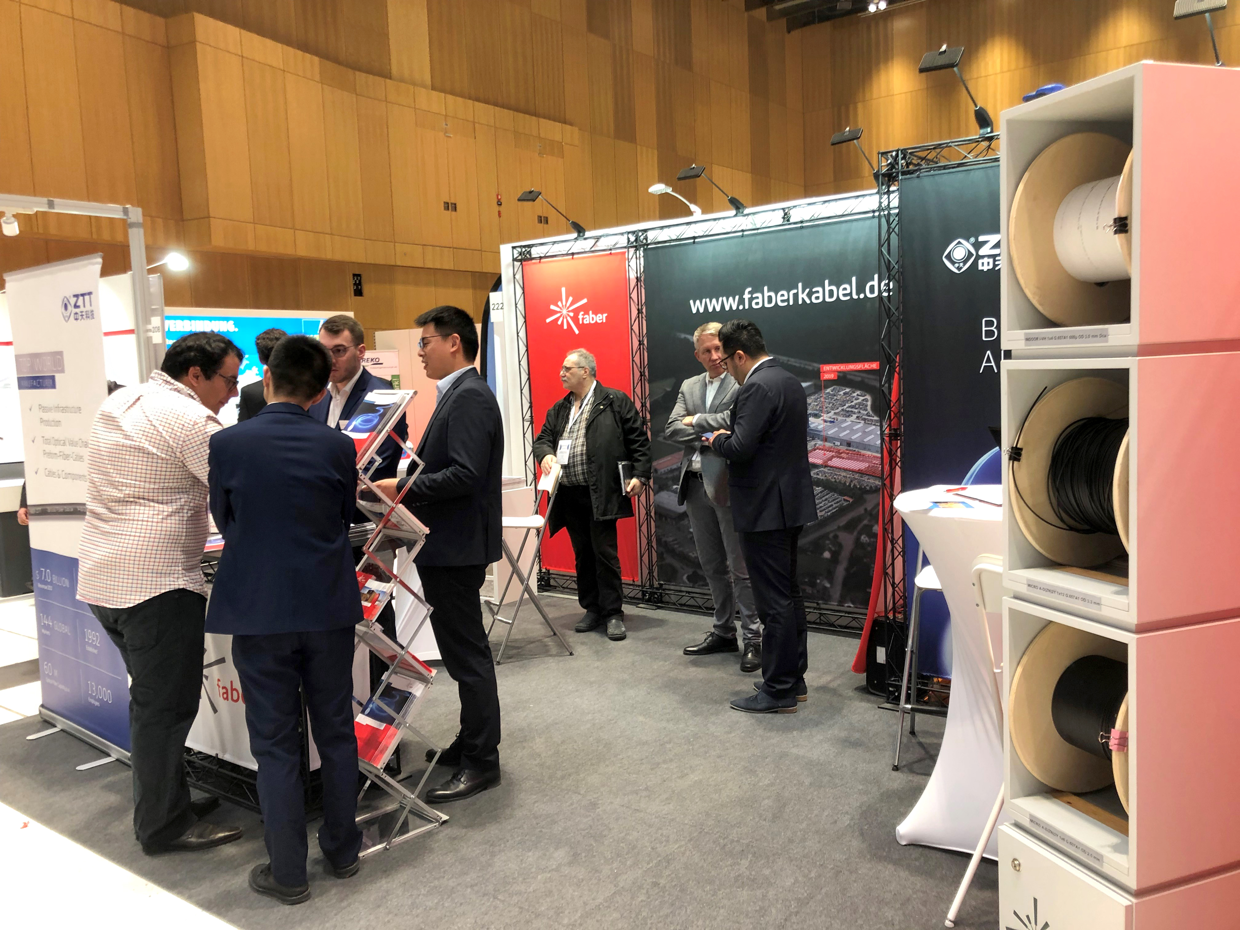 Faber at the BREKO glass fibre fair FIBERDAYS19