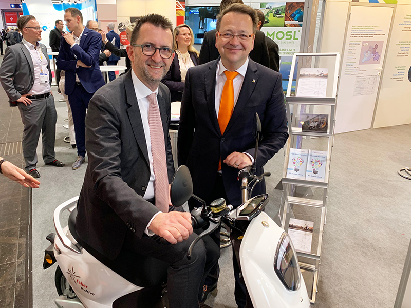 Faber at Hannover Messe 2019