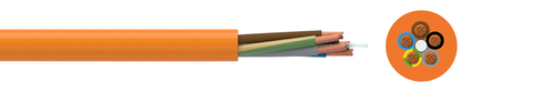 PUR insulated cable H07BQ-F