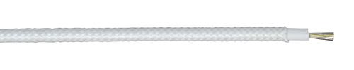 H05SJ-K 01X4 WS Silikon/Glasseide