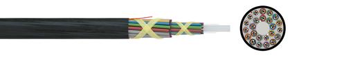 Optical Mini Cable A-DQ2Y nx12 G.657A1/G.652D (HT)