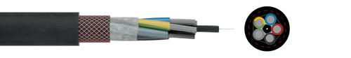 Rubber reeling cable NSHTOEU