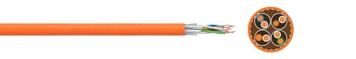 LAN-Kabel FABER® dataline 1000 STP (S-FTP)