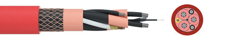 Medium voltage reeling cable TRATOSFLEX-ESDB-FO®